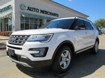 2017 Ford Explorer XLT 4WD APPLE CAR PLAY, PANORAMIC SUNROOF, POWERED 3RD ROW SEATS, BACKUP CAM, LEATHER