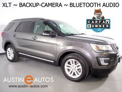 2017_Ford_Explorer XLT_*BACKUP-CAMERA, KEYLESS ENTRY/START/STOP, STEERING WHEEL CONTROLS, 3RD ROW SEATING, CRUISE CONTROL, ALLOY WHEELS, BLUETOOTH PHONE & AUDIO_ Round Rock TX