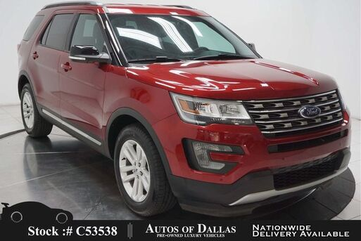 2017_Ford_Explorer_XLT CAM,HTD STS,PARK ASST,18IN WLS,3RD ROW_ Plano TX