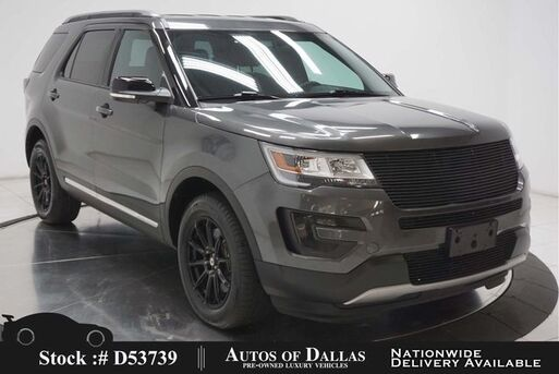2017_Ford_Explorer_XLT CAM,PARK ASST,18IN WHLS,3RD ROW STS_ Plano TX