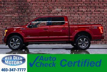 2017_Ford_F-150_4x4 Super Crew Lariat FX4 Leather Roof Nav_ Red Deer AB