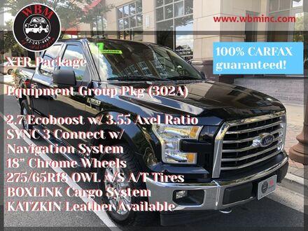 2017_Ford_F-150_4x4 SuperCrew STX_ Arlington VA