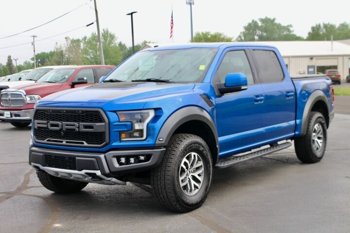 2017 Ford F-150 Crew Cab Raptor Fort Wayne Auburn and Kendallville IN