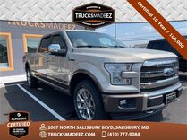 2017 Ford F-150 King Ranch 4WD ** Pohanka Certified 10 Year / 100,000  **