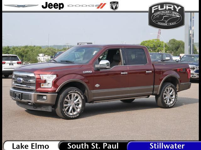 2017 Ford F-150 King Ranch 4WD SuperCrew 5.5' Box St. Paul MN