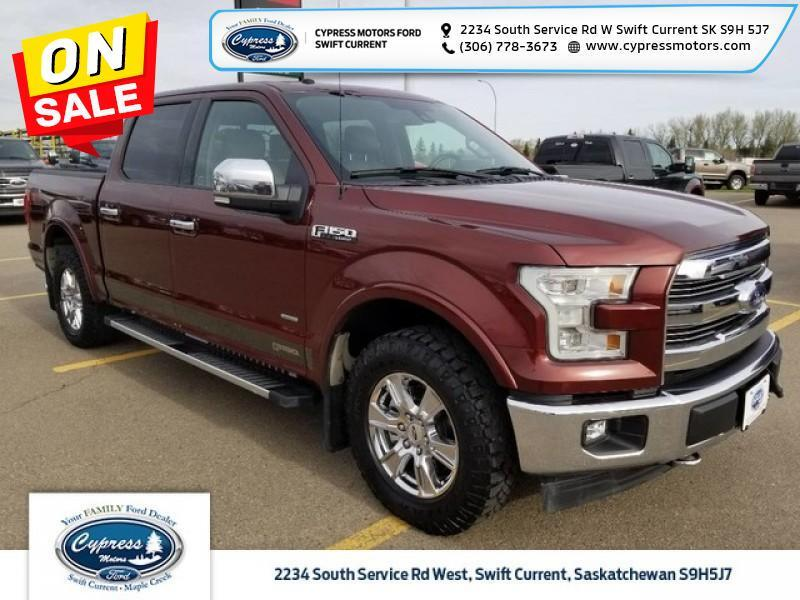 2017 Ford F-150 Lariat   - Leather Seats - Swift Current SK