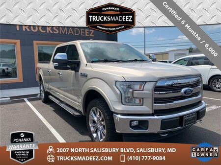2017_Ford_F-150_Lariat 4WD SuperCrew ** NAVI & SUNROOF ** ONE OWNER **_ Salisbury MD