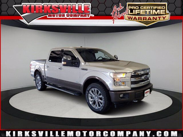 2017 Ford F-150 Lariat 4WD SuperCrew 5.5' Box Kirksville MO