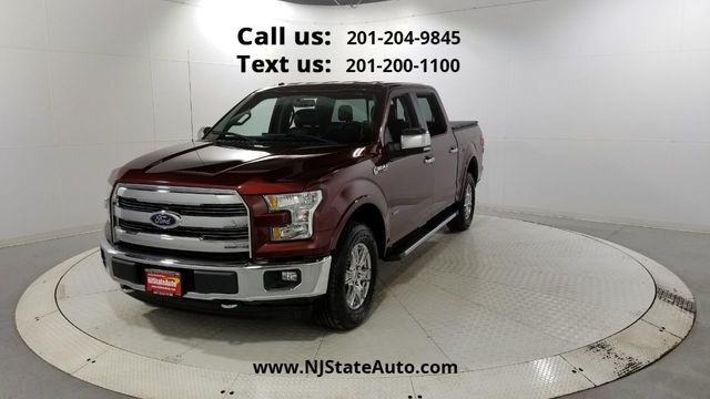2017 Ford F-150 Lariat 4WD SuperCrew 6.5' Box Jersey City NJ
