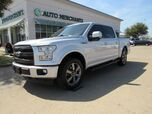 2017 Ford F-150 Lariat SuperCrew 5.5-ft. Bed 4WD Navigation System, Bluetooth Connection, Apple Carplay, Voice Contr