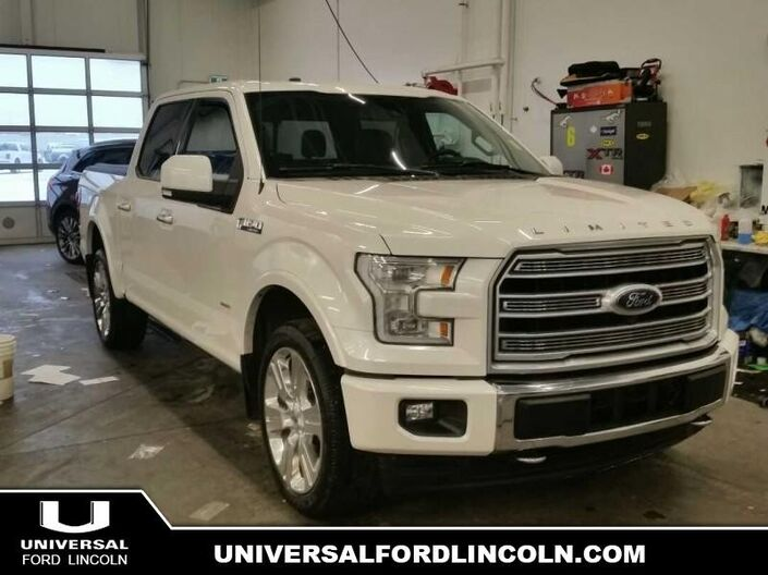 2017 Ford F-150 Limited  - Certified Calgary AB