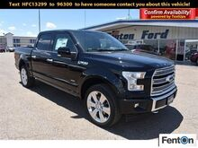 2017_Ford_F-150_Limited_ Pampa TX