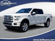 2017_Ford_F-150_Platinum 4WD SuperCrew 5.5' Box_ Cary NC