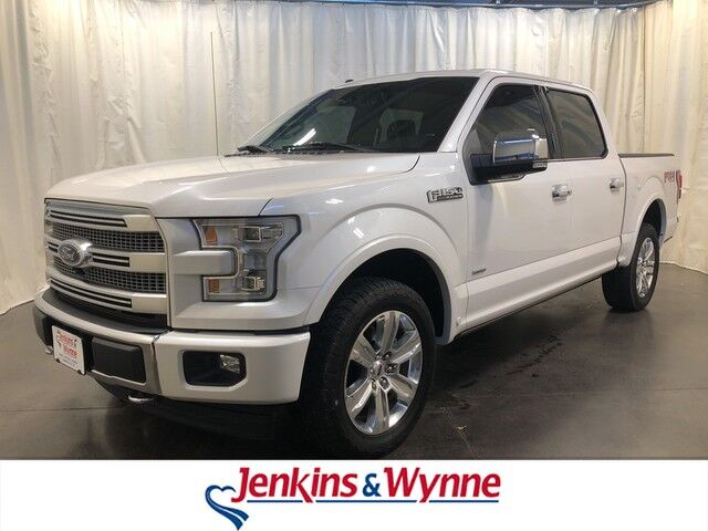 2017 Ford F 150 Platinum 4wd Supercrew 5 Box Clarksville Tn