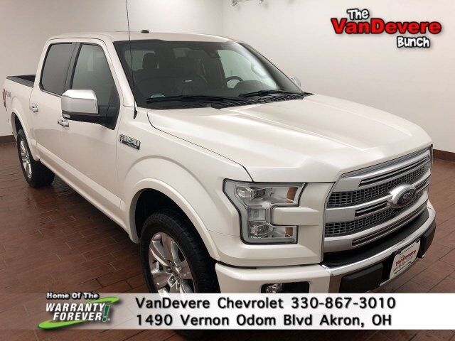 2017 Ford F-150 Platinum Akron OH