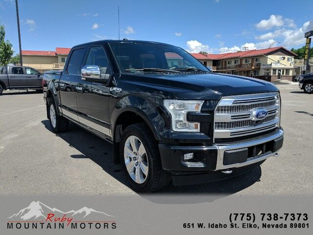 2017 Ford F-150 Platinum Elko NV