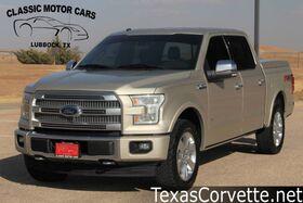 2017_Ford_F-150_Platinum_ Lubbock TX