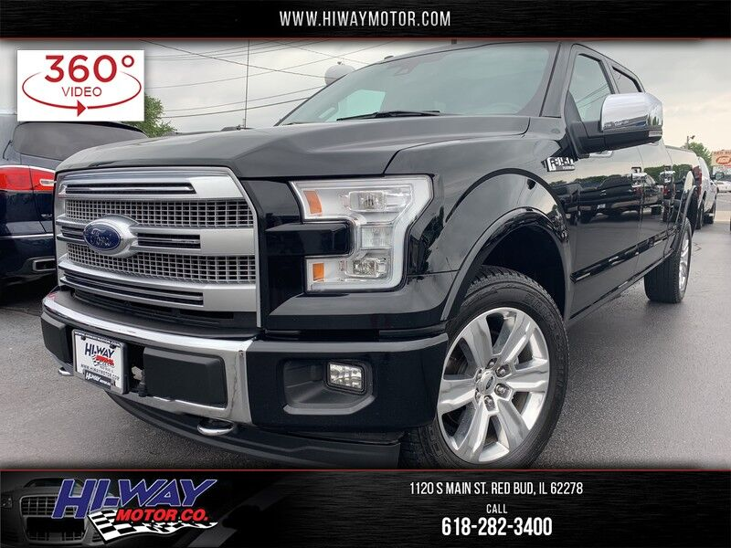 2017 Ford F-150 Platinum Red Bud IL