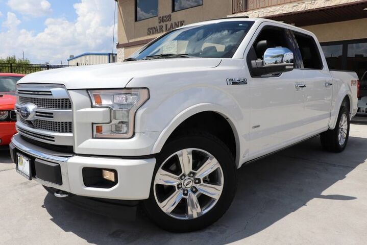 2017 Ford F-150 Platinum,1 OWNER,CLEAN CARFAX,SHOWROOM! Houston TX