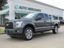 2017_Ford_F-150_STX CLOTH SEATS, BLUETOOTH CONNECTIVITY, USB/AUX INPUT, 4X4 ADJUSTABLE, CLIMATE CONTROL, WARRANTY_ Plano TX