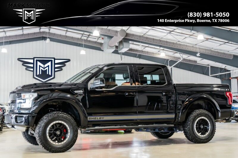 2017_Ford_F-150_Shelby - 750 HORSEPOWER - SUPERCHARGED_ Boerne TX