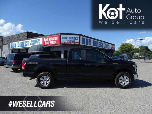 2017 Ford F-150 XL 3.5L V6 4X4 Leather Seats, No Accidents! Kelowna BC