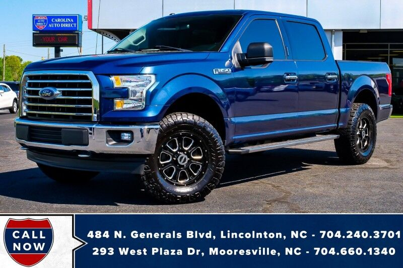 2017 Ford F-150 XLT 4X4 *SuperCrew* w/ Heated Front Seats & NAV Mooresville NC