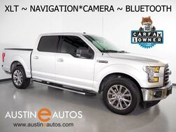 2017_Ford_F-150 XLT SuperCrew 5.0L V8_*NAVIGATION, BACKUP-CAMERA, TOUCH SCREEN, HEATED FRONT BUCKET SEATS, 20 INCH WHEELS, BLUETOOTH PHONE & AUDIO_ Round Rock TX