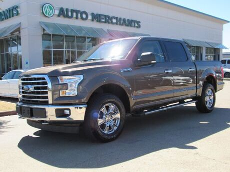 2017 Ford F-150 XLT SuperCrew 5.5-ft. Bed 4WD BLUETOOTH, CAR PLAY, BACK UP CAMERA, RUNNING BOARDS Plano TX