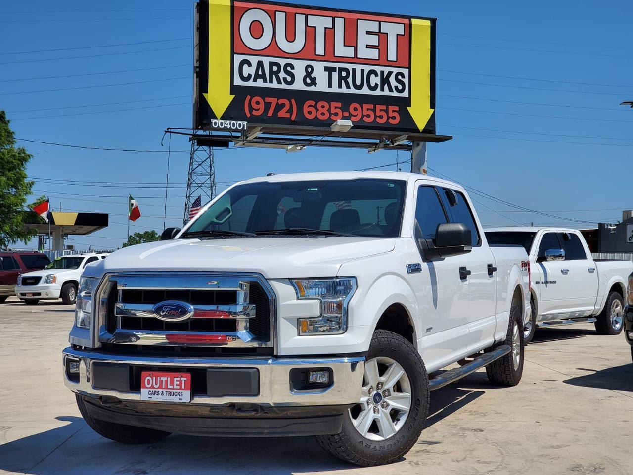 2017 Ford F-150 XLT SuperCrew 5.5-ft. Bed 4WD Dallas TX