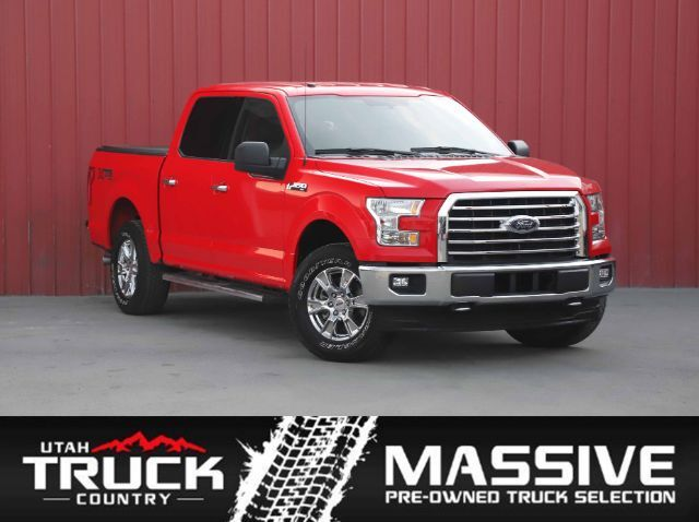2017 Ford F-150 XLT SuperCrew 5.5-ft. Bed 4WD Lehi UT