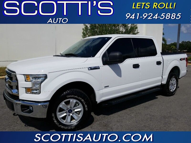 2017 Ford F-150 XLT~4X4 SUPER CREW~GREAT PRICE~ 1-OWNER~TRAILER BACK-UP ASSIST~ TOW PACKAGE~ Sarasota FL