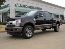2017_Ford_F-250 SD_King Ranch Crew Cab 4WD 6.7L TURBO DIESEL, Back-Up Camera, Blind Spot Monitor, PANORAMIC SUNROOF_ Plano TX