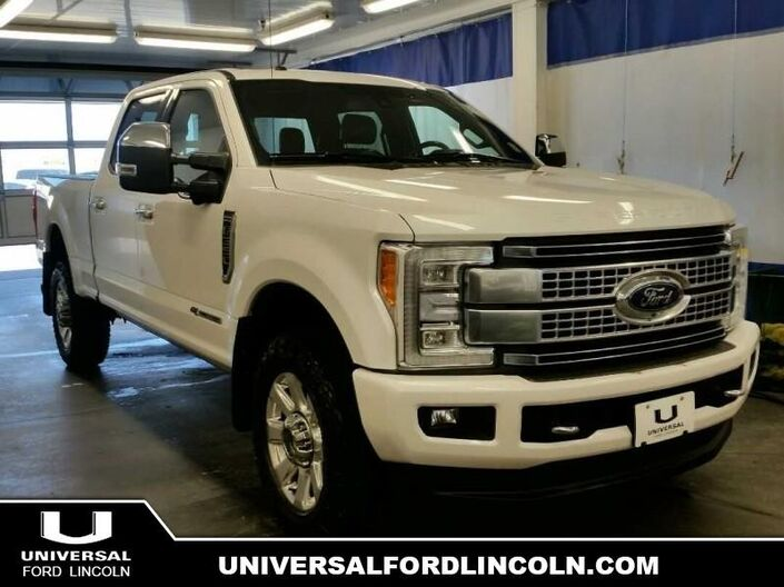 2017 Ford F-350 Super Duty Platinum  - Certified Calgary AB
