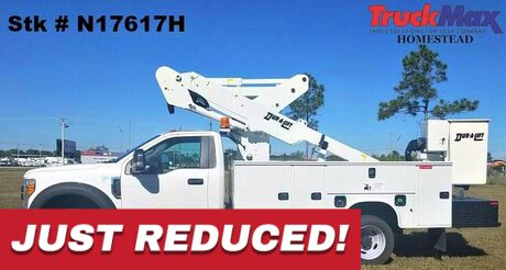2017 Ford F-550 DRW Dur-A-Lift DTAX-39FP Homestead FL