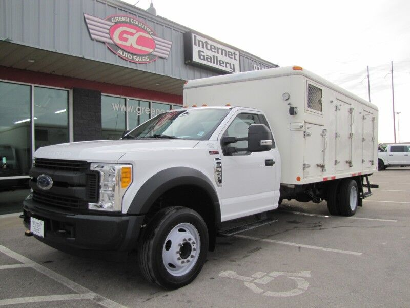 2017 Ford F-550 REEFER / REFRIGERATED TRUCK XL Collinsville OK