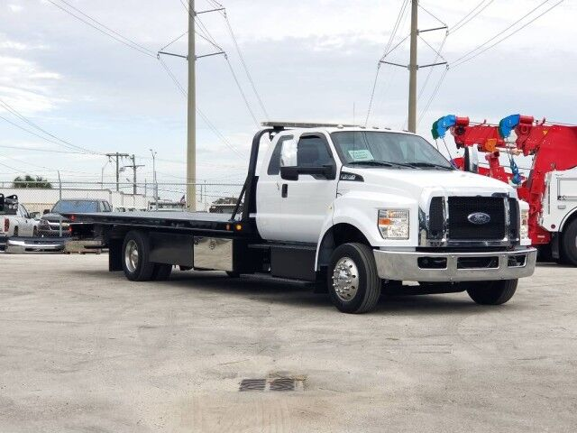 2017 Ford F-650 Extended Cab 21.6 Miller Century Steel Car Carrier Truck Miami FL