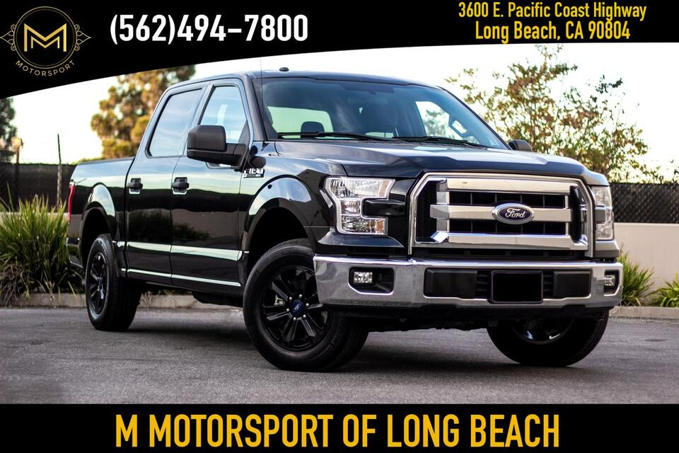 2017_Ford_F150 SuperCrew Cab_XLT Pickup 4D 5 1/2 ft_ Long Beach CA