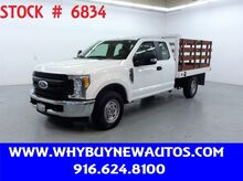 2017_Ford_F250_~ Extended Cab ~ 9ft. Stake Bed ~ Only 71K Miles!_ Rocklin CA