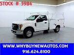 2017 Ford F250 Utility ~ Only 10K Miles!