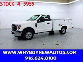 Ford F250 Utility ~ Only 12K Miles! 2017