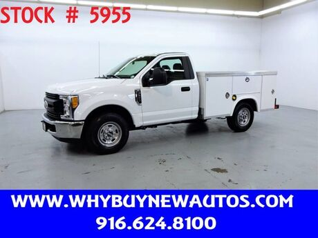 2017 Ford F250 Utility ~ Only 12K Miles! Rocklin CA