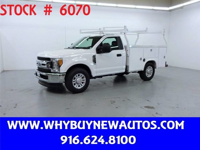 2017 Ford F250 Utility ~ Only 23K Miles! Rocklin CA