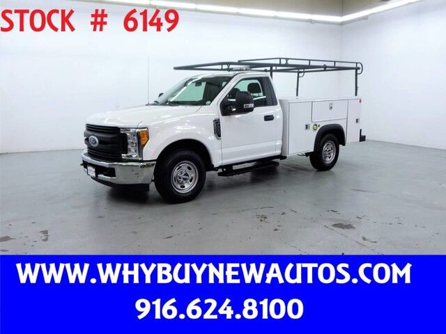 2017 Ford F250 Utility ~ Only 37K Miles! Rocklin CA