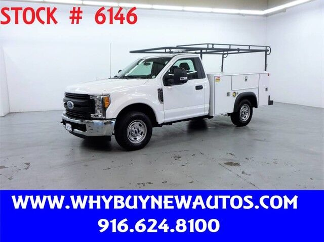 2017 Ford F250 Utility ~ Only 57K Miles! Rocklin CA