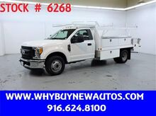2017_Ford_F350_~ 12ft. Contractor Bed ~ Only 51K Miles!_ Rocklin CA