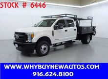 2017_Ford_F350_~ 4x4 ~ Diesel ~ Crew Cab ~ 9ft. Contractor Bed ~ Only 54K Miles!_ Rocklin CA