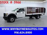 2017 Ford F450 ~ 4x4 ~ Diesel ~ 14ft. Stake Bed ~ Only 41K Miles!
