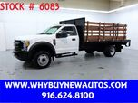 2017 Ford F450 ~ Liftgate ~ 14ft. Stake Bed ~ Only 15K Miles!