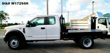 2017_Ford_F450XL Supercab 4x2_9' Flatbed w/Goose-neck (Diesel)_ Homestead FL